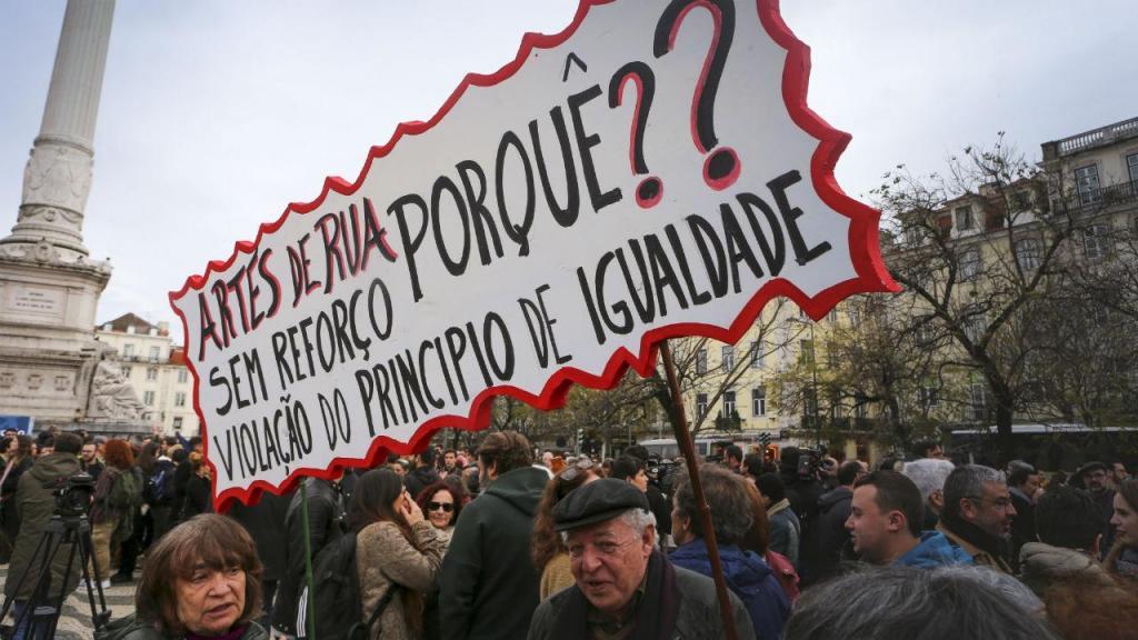 Ação de protesto