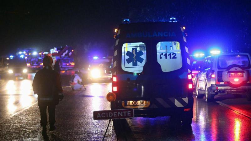 Acidente com autocarro em Nisa