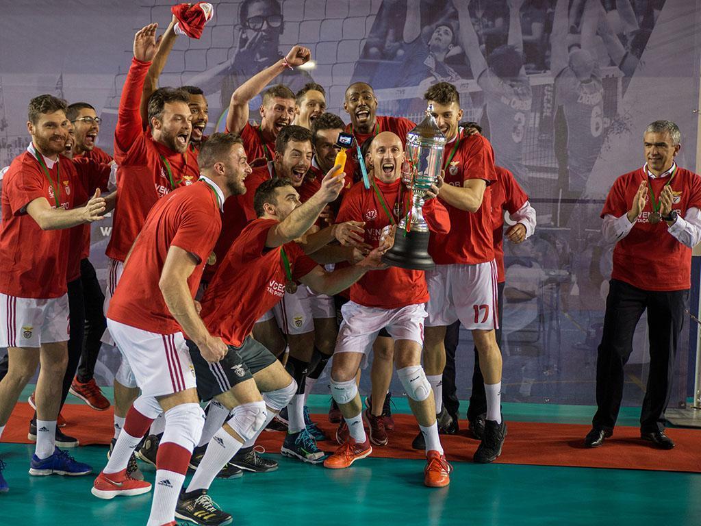 Voleibol: Benfica-Castêlo da Maia