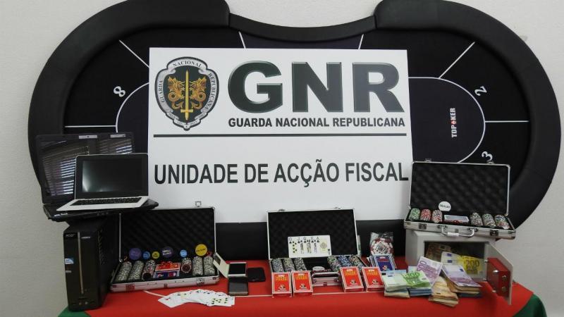 Casino ilegal em Olhão