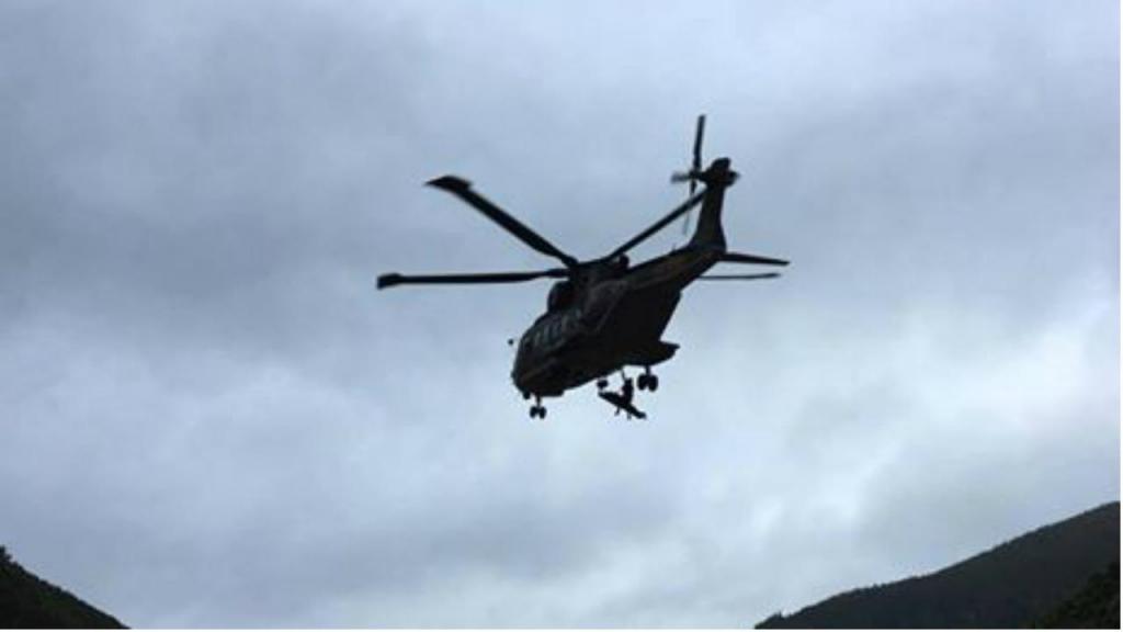 Força Aérea resgata português nos Açores