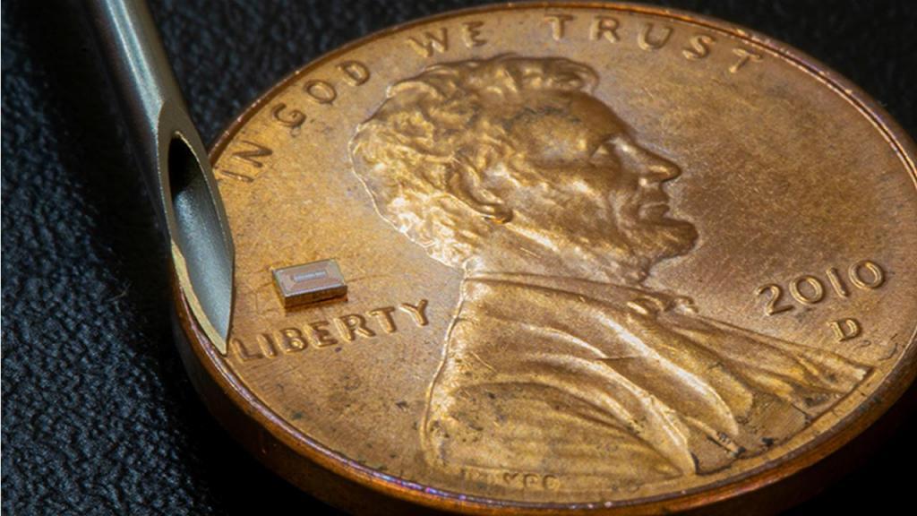Chip micro-sensor para monitorizar consumo de álcool