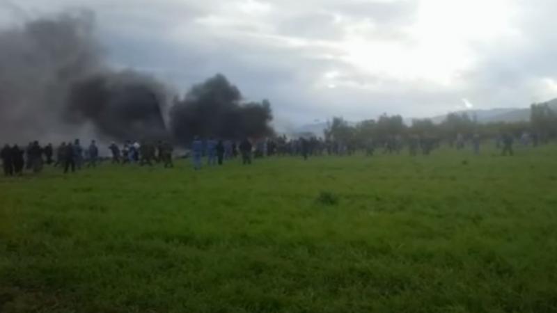 Resultado de imagem para avião cai na argelia