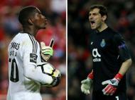 Bruno Varela e Iker Casillas