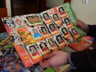 Equipa de Portugal nos cromos do Europeu de 2000 (Foto: Ricardo Jorge Castro)