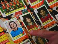 Vítor Baia e Fernando Couto, dois dos cromos portugueses na equipa do Euro 2000 (Foto: Ricardo Jorge Castro)