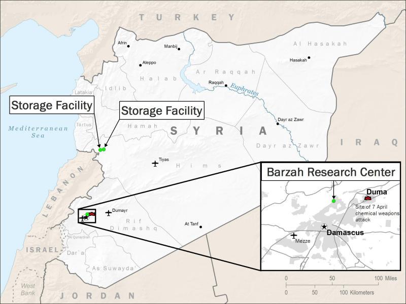 Mapa mostra locais que foram atacados pelos aliados