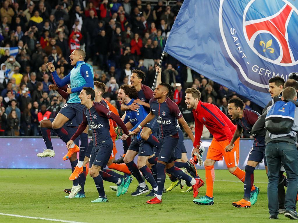PSG sagra-se campeão francês