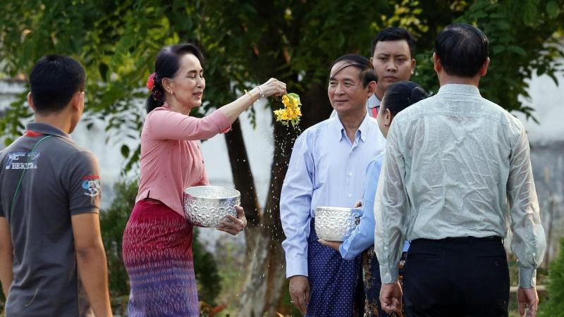 Win Myint, presidente da Birmânia