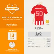 MVP da Jornada 30