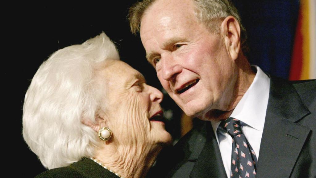 Barbara Bush, antiga primeira-dama dos EUA