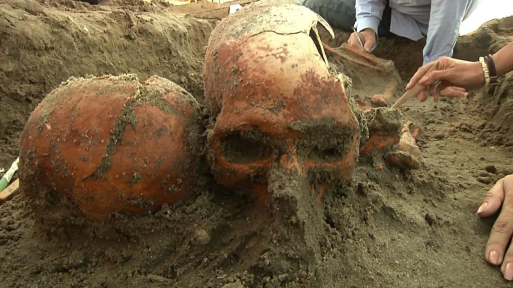 Ossadas encontradas remontam ao ano 1100 D.C