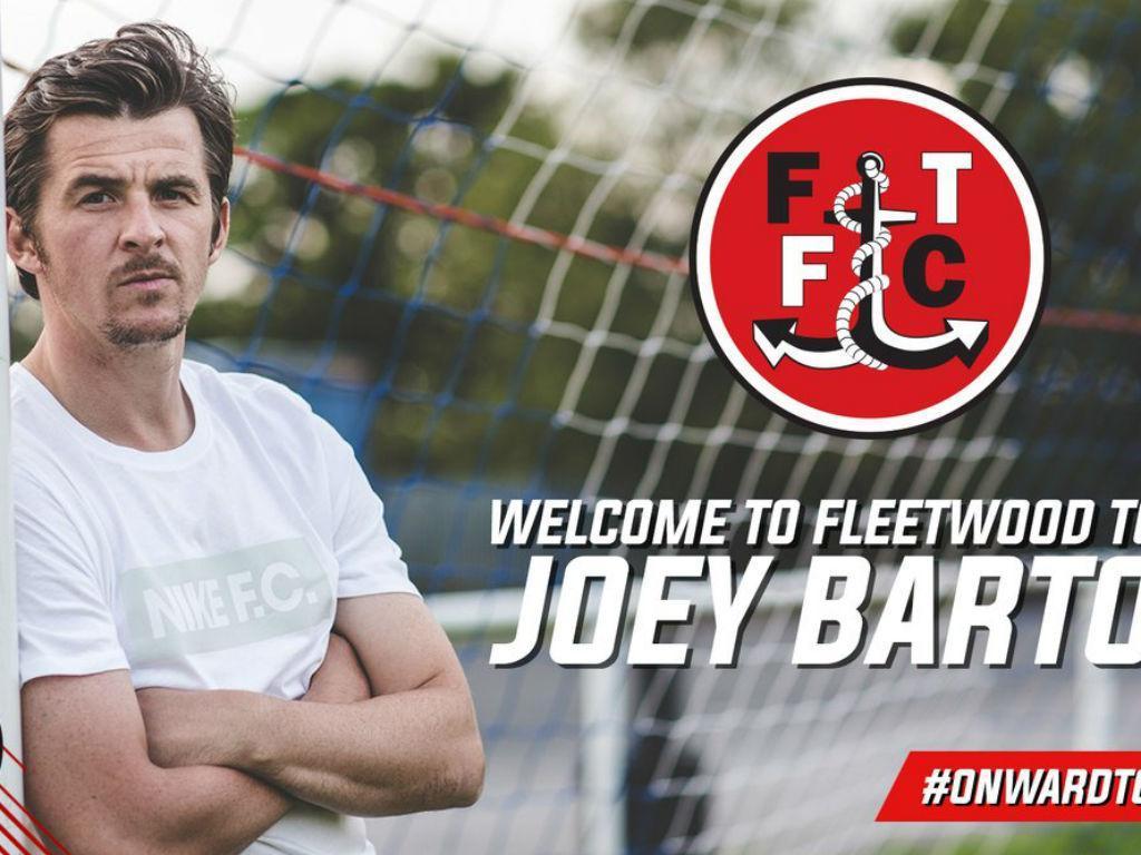 Joey Barton treinador Fleetwood