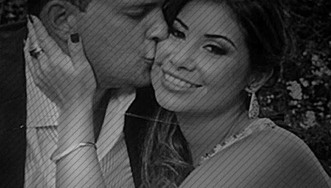 Adrián Velásquez e a mulher Claudia Díaz Guillén (Venezuela)