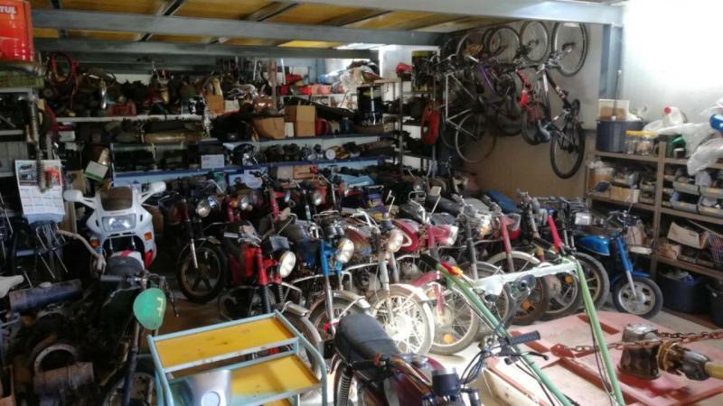 Ciclomotores furtados