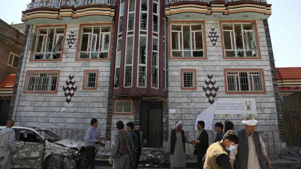 Atentado suicida em Cabul, Afeganistão, 22 de abril 2018