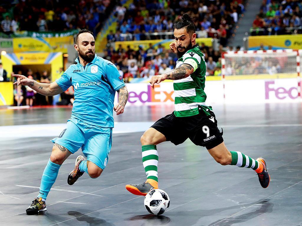 Futsal: Sporting-Inter Movistar