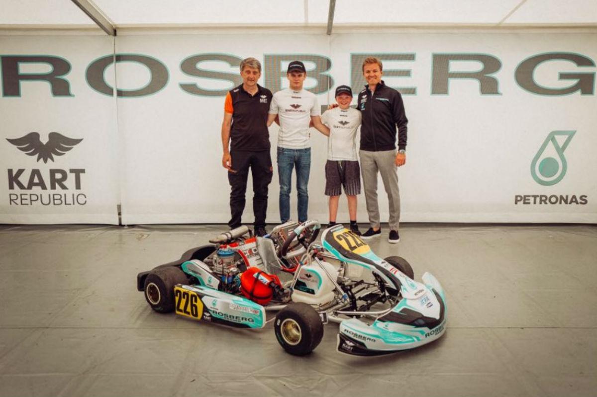 Nico Rosberg apresenta academia de pilotos (reprodução Facebook)