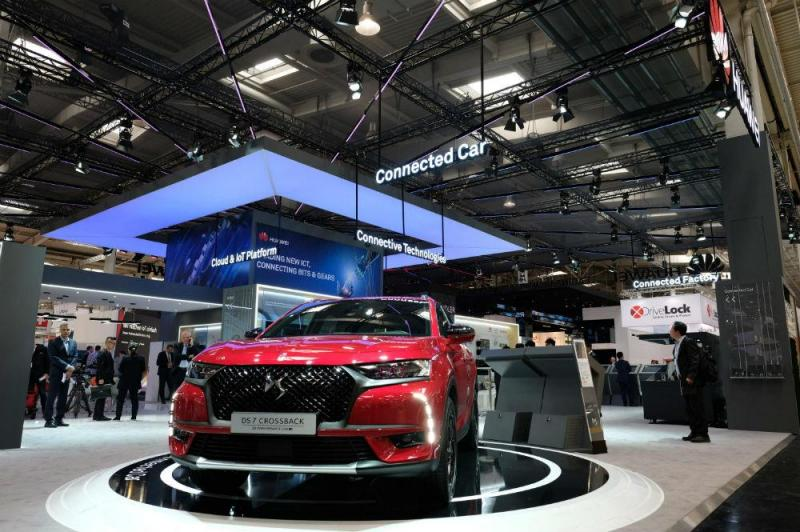 DS7 Crossback PSA Huawei