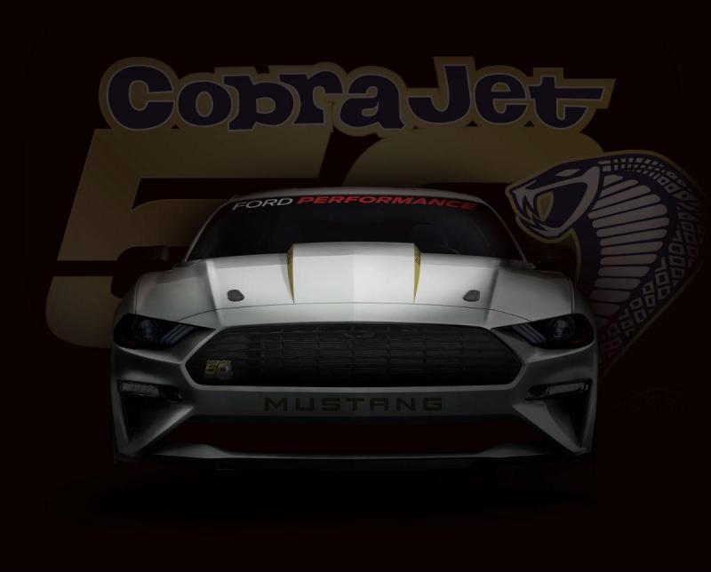 Mustang Cobra Jet 50 anos (Imagem Ford)