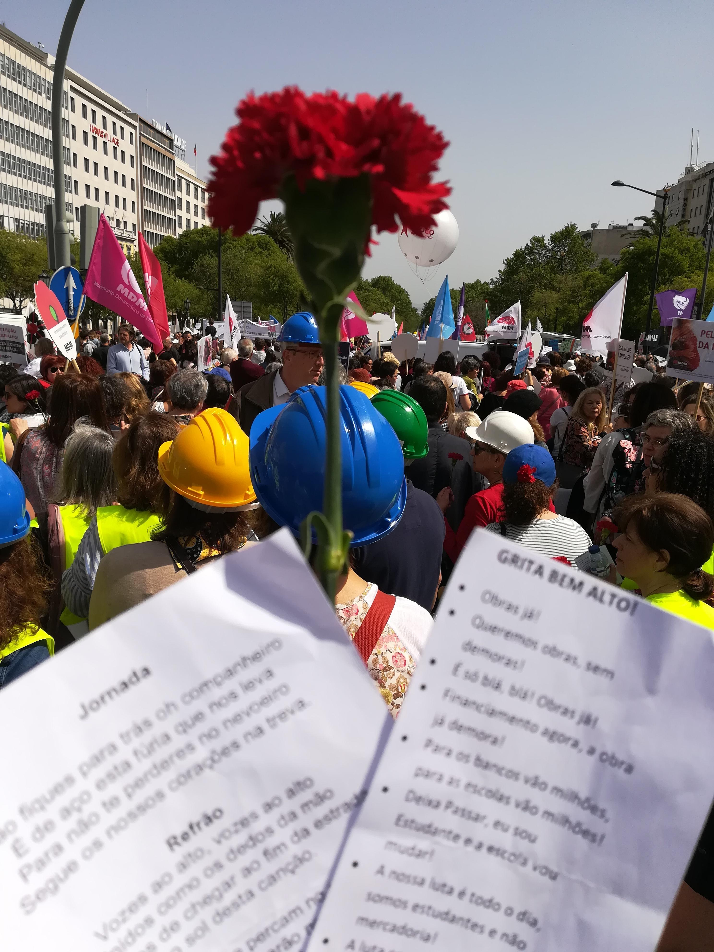 Manifestação do 25 de Abril