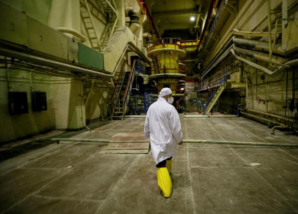 Chernobyl vista por dentro
