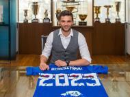Bereszynski (foto Twitter da Sampdoria)