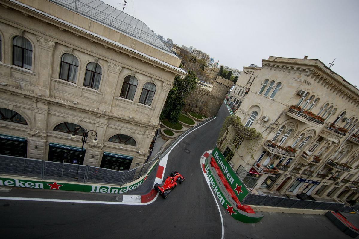 GP do Azerbaijão de F1 (Lusa)