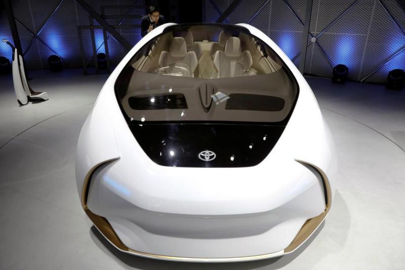 Salão de Pequim - Toyota concept (Reuters)