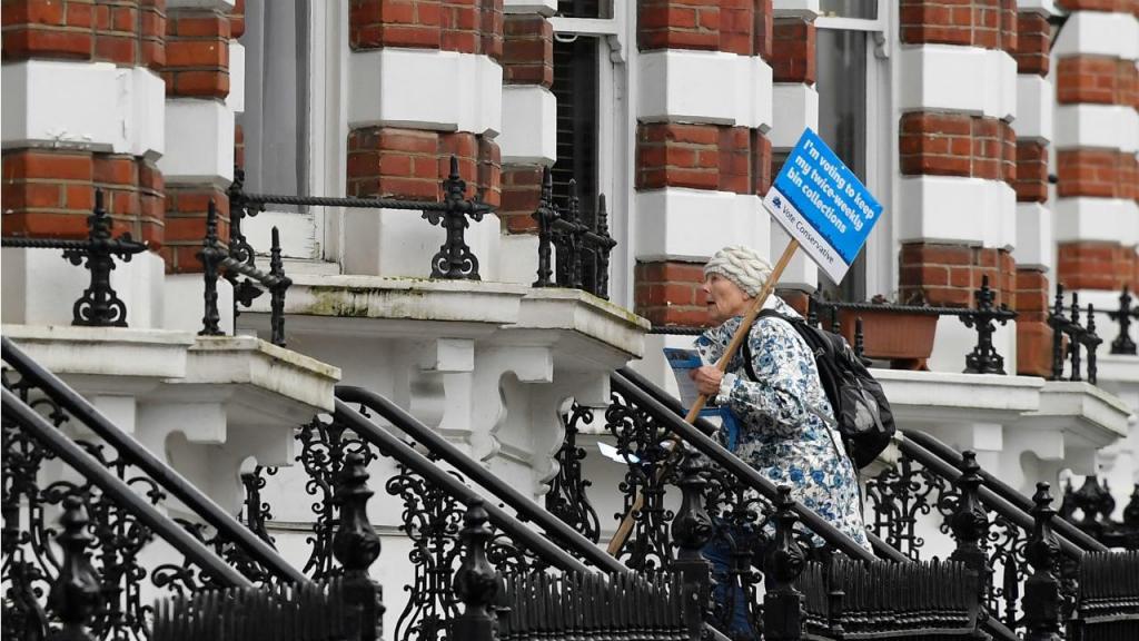 Londres - campanha para eleições locais