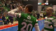 Futsal: os golos da vitória do Sporting sobre o Belenenses (4-2)