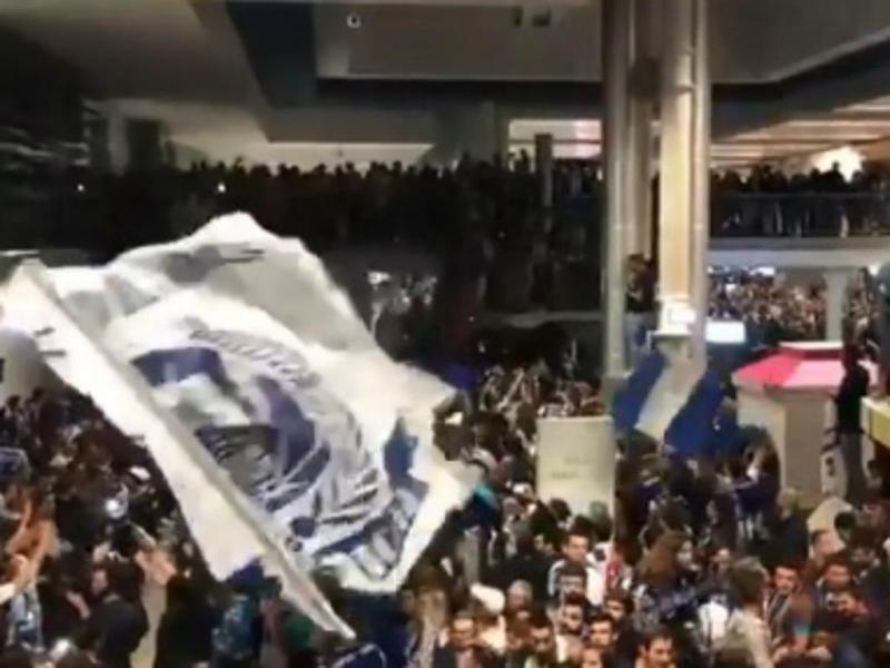 Chegada do FC Porto (imagem Twitter)