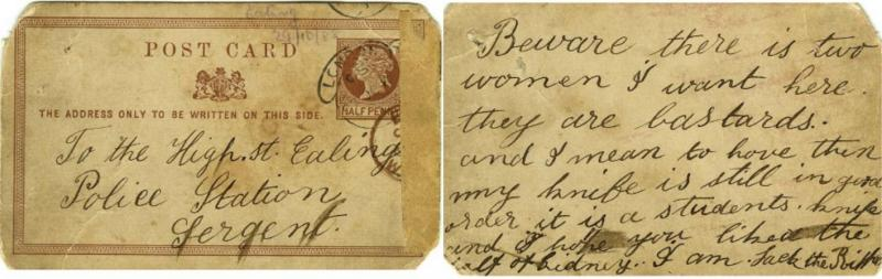 Carta Jack, o Estripador