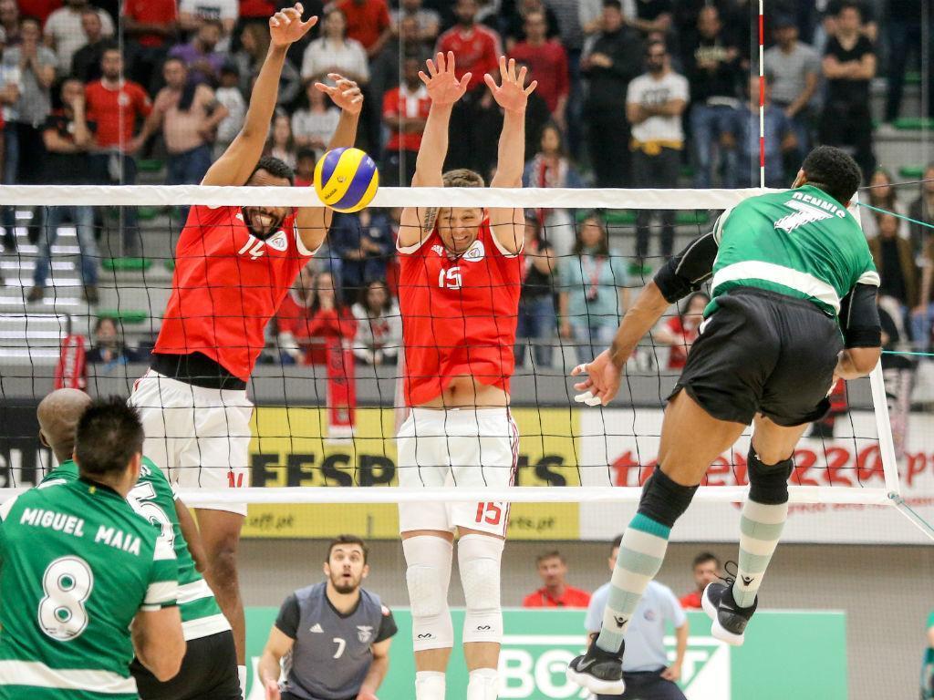 Voleibol: Sporting e Benfica disputam a «negra»
