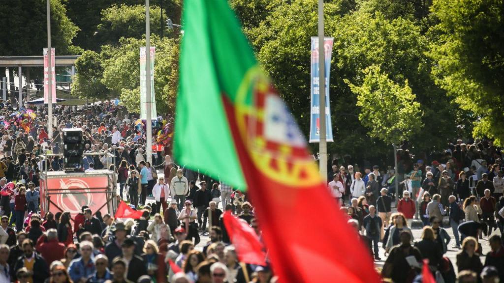 Desfile do 1.º de Maio em Lisboa