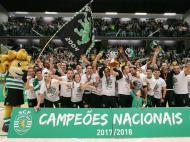 Voleibol: Sporting campeão nacional