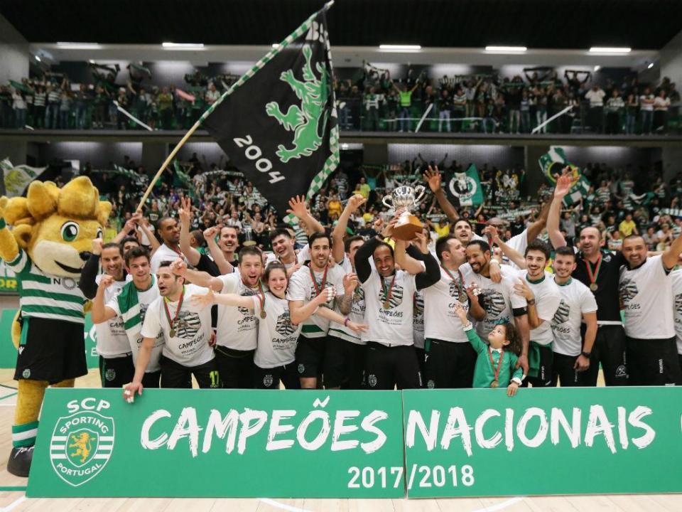 Voleibol: Lourenço Martins volta ao Sporting