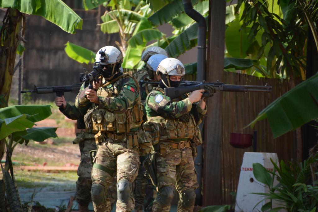 Militares portugueses - República Centro Africana