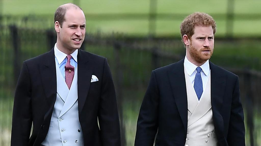 Príncipe William e príncipe Harry