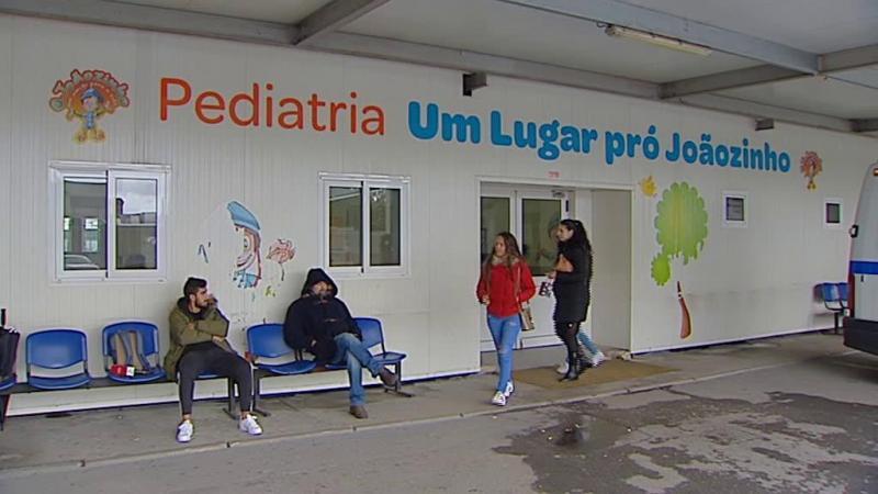 Resultado de imagem para Pais querem processar quem mandou parar obras na Ala Pediátrica do São João