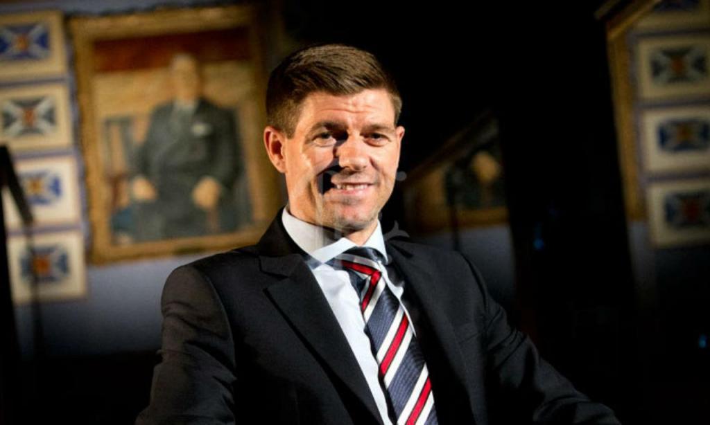 Steven Gerrard (foto: Rangers)
