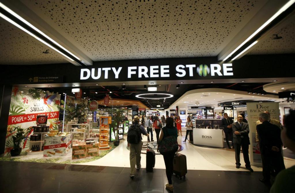 Aeroporto de Lisboa - Free shop