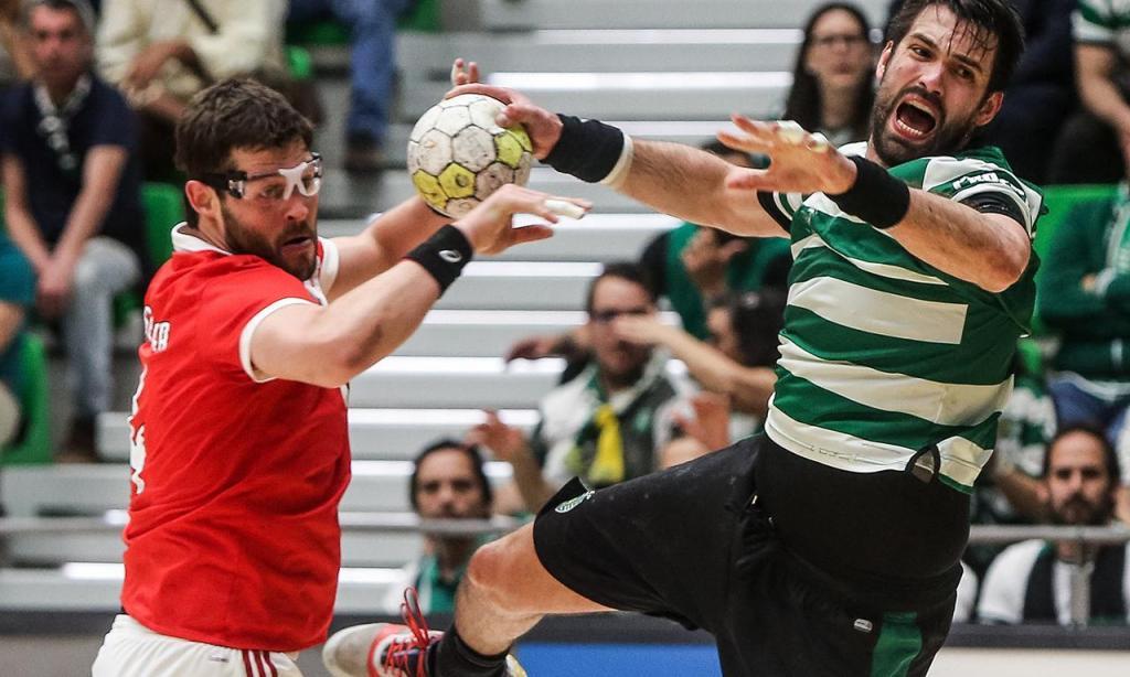 Andebol: Sporting-Benfica