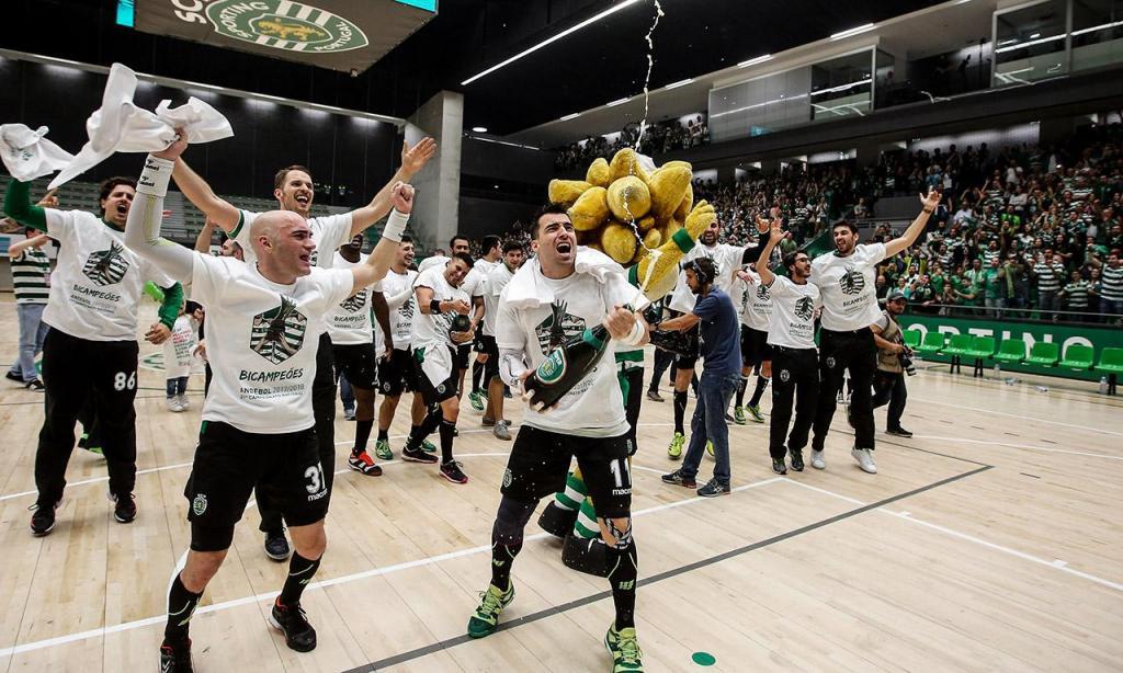 Andebol: Sporting é bicampeão nacional