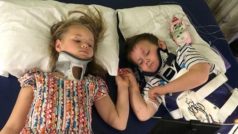 Irmãos sobrevivem a acidente fatal