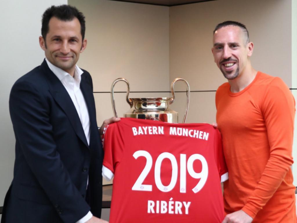 Franck Ribéry até 2019 (Foto: Bayern Munique)