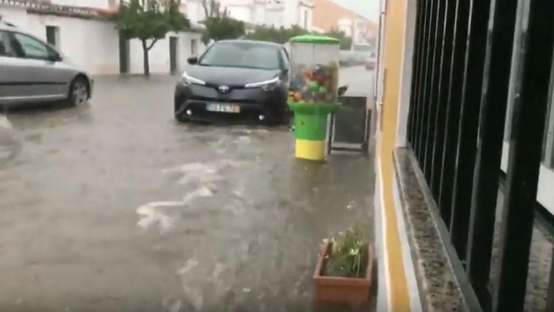 Inundação em São Vicente e Ventosa