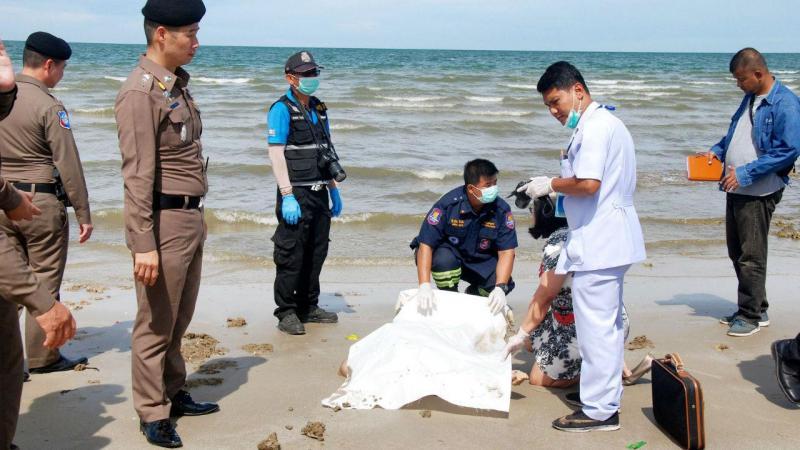 Jovem português morto na Tailândia [Foto: Daily Hua Hin]