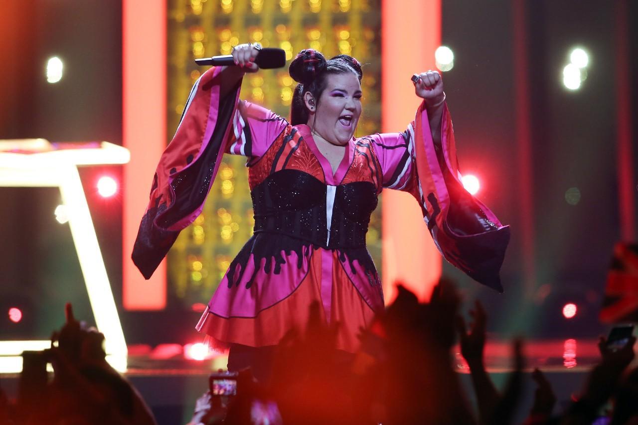 Netta: as imagens da vencedora da Eurovisão