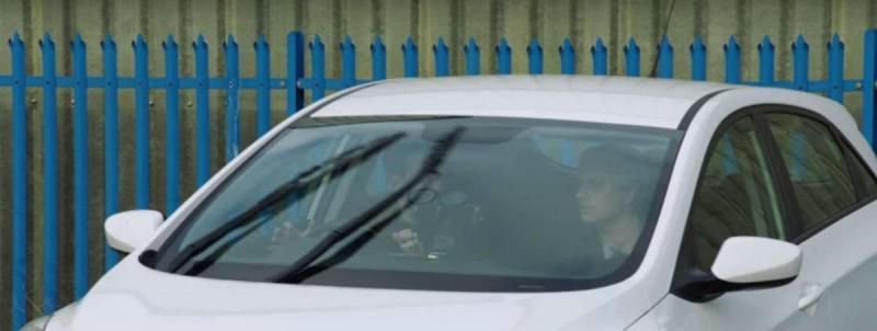 Jack Whitehall e José Mourinho (reprodução YouTube de Jack Whitehall)
